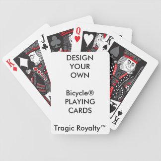 Cartes de jeu tragiques de Royalty™ de bicyclette Jeu De Cartes