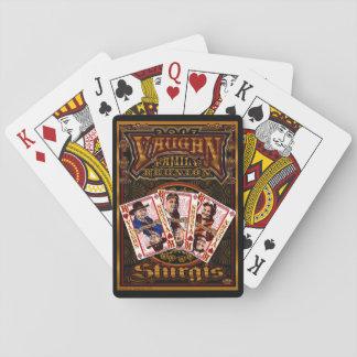 Cartes de joueur de la Réunion de Vaughn de Cartes À Jouer