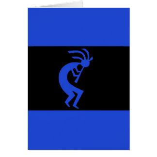 Cartes De Kokopelli bleu longtemps