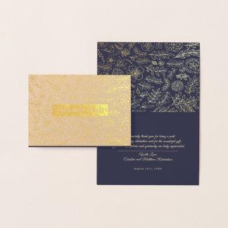 Cartes de mariage Aluminium-Pressées par luxe de