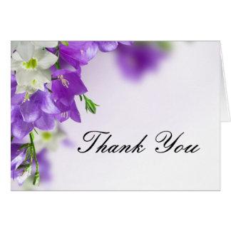 Cartes de Merci de fleur