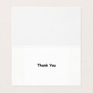 Cartes de Merci de gratitude