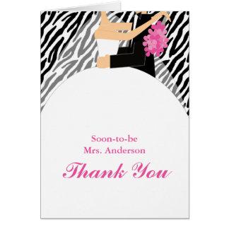 Cartes de Merci de jeunes mariés