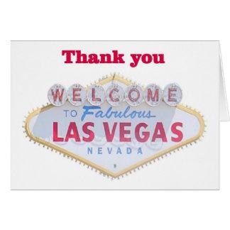 Cartes de Merci de Las Vegas