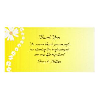 Cartes de Merci de mariage Cartes Avec Photo