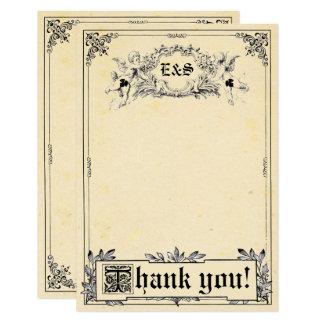 Cartes de Merci de mariage de livre de contes de Carton D'invitation 8,89 Cm X 12,70 Cm