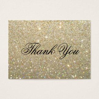 Cartes de Merci - or Glit ouvrier