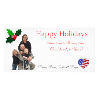 Cartes de Noël de Henderson Photocarte Customisée