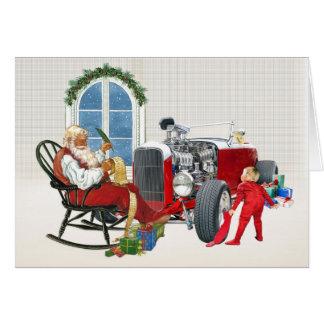 Cartes de Noël de hot rod 7