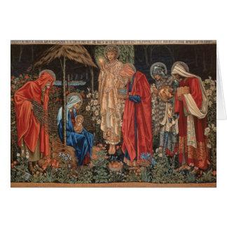 Cartes de Noël de Jésus de bébé