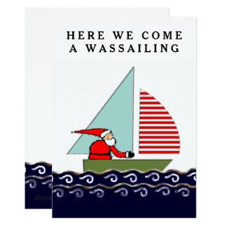 Cartes de Noël de navigation