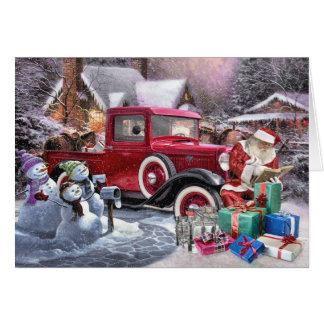 Cartes de Noël de studios de Rod de rat 6