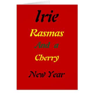 Cartes de Noël d'irie de Rasta