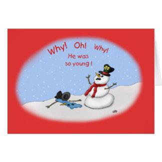 Cartes de Noël drôles : Fusion