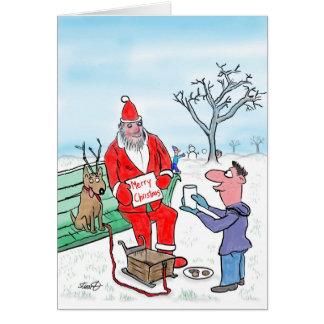 Cartes de Noël drôles : La signification de Noël