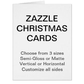 Cartes de Noël faites sur commande