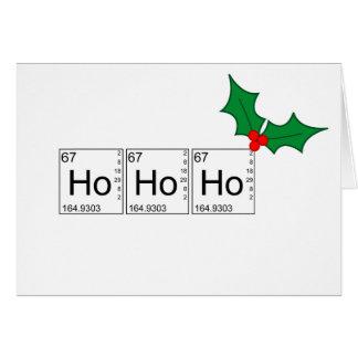 Cartes de Noël - Ho Ho Ho
