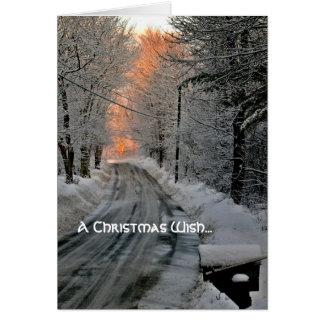 Cartes de Noël remplacées d'espoir