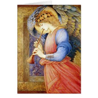 Cartes de note de Burne-Jones d'ange de Noël