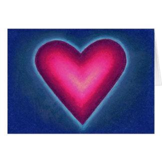 Cartes de note de coeur