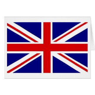 Cartes de note d'Union Jack