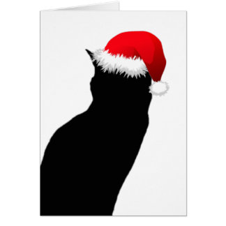 Cartes de note heureuses de vacances de Père Noël