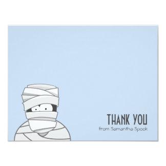Cartes de note plates déplaisantes de Merci de la Carton D'invitation 10,79 Cm X 13,97 Cm