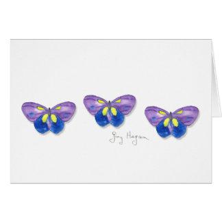 Cartes de papillons