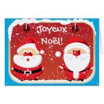 Cartes de Père Noël le père noël