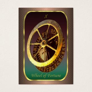 Cartes de profil de tarot - la roue de la fortune