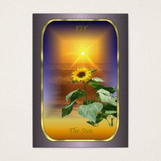 Cartes de profil de tarot - The Sun