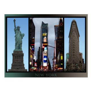 Cartes de souvenir de point de repère de New York  Cartes Postales
