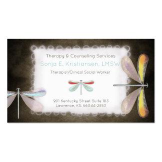 Cartes de thérapeute carte de visite standard