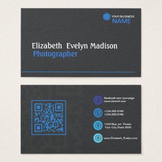Cartes De Visite 0001 élégants bleus