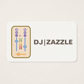 Cartes de visite 2016 du DJ