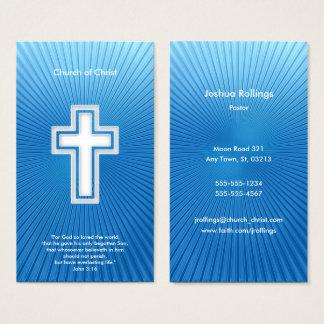 Cartes De Visite 3h16 de John - chrétien