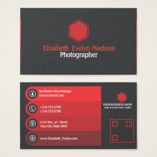 Cartes De Visite 787 élégants rouges
