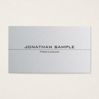 Cartes De Visite À la mode simple élégant de Minimalistic de regard