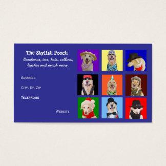 Cartes De Visite Accessoires personnalisables de chien