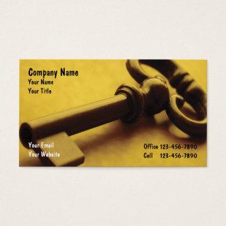Cartes De Visite Affaires de sécurité Cards_1