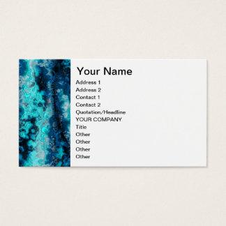 Cartes De Visite Agate bleue