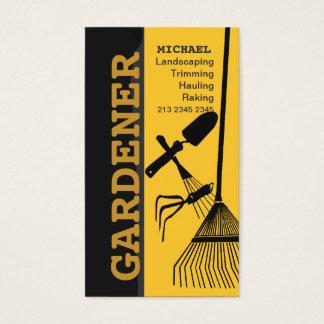 Cartes De Visite Aménagement du soin de jardinage de pelouse de