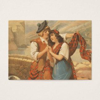 Cartes De Visite Amour de plaid de PIÈCE EN T