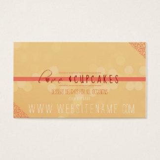 Cartes De Visite amour et petits gâteaux