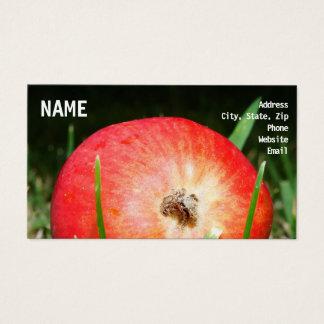 Cartes De Visite Apple portent des fruits