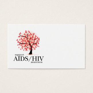Cartes De Visite Arbre d'AIDS/HIV