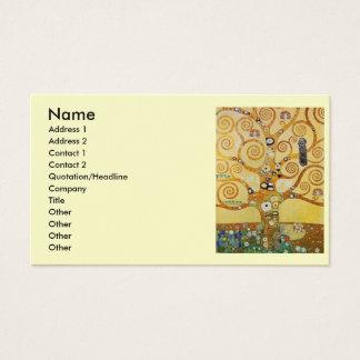 Cartes De Visite Arbre de Klimt de la vie
