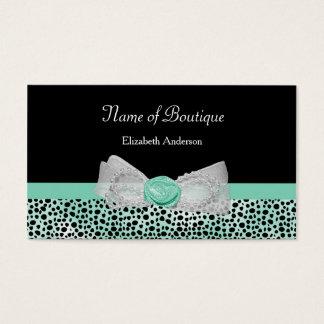 Cartes De Visite Arc en bon état mignon de guépard de boutique