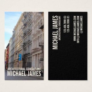 Cartes De Visite Architecture New York City NYC de SoHo de rue de