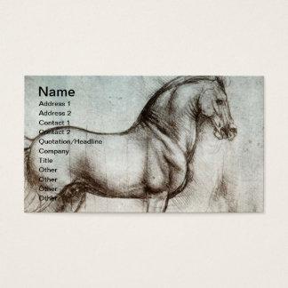 Cartes De Visite Art vintage de cheval